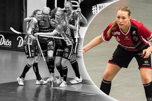 Lina Svarfvar hoppas på slutspel för KAIS Mora.