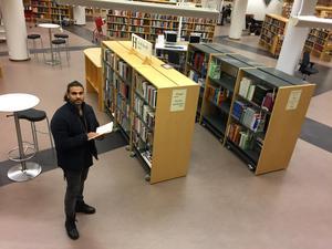 På Stadsbiblioteket i Örebro vaknade  Kaveh