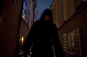 Spöke i Gamla stan.Foto: Lars Pehrson / SvD / SCANPIX /