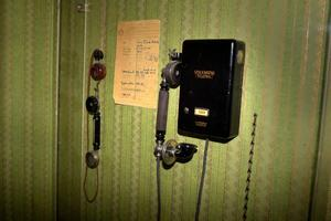 August Strindberg hade telefonen i sitt arbetsrum.Foto: Janerik Henriksson/TT