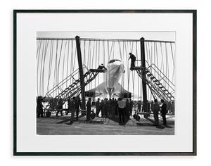 Fotokonst, Concorde Tarmac, 1299 kronor på Newport.
