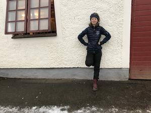 Frida Jeppsson är ordförande för Fältrittklubbens ungdomssektion - och en av dem som jobbat med julshowen sedan i augusti.
