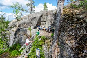 Länstyrelsen har gjort området i viss omfattning tillgängligt för rörelsehindrade. foto: Leif Vestin