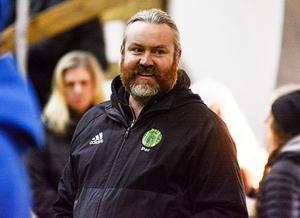 Klubbchefen Per Löfgren ser med tillförsikt fram emot en nystart i division 1.