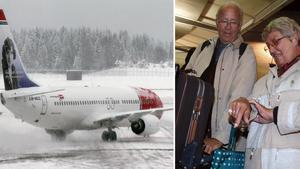 Flygresenärer får räkna med förseningar under jul- och nyårshelgerna. Bild: TT/Scanpix
