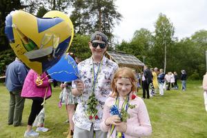 Rebecca Nilsson Nordqvist och Sebastian Gisslin Nordqvist väntade på sin storebror.