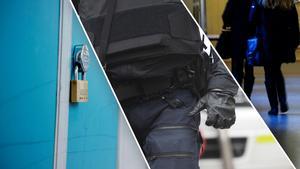 Mannen bar skottsäker väst vid en skola i Västerbergslagen och utgav sig för att vara polis. Sedan rånade han en tonåring på dennes mobiltelefon. Nu döms mannen för rån. Två tonårsflickor döms för medhjälp till rån. OBS: Bilderna är tagna i andra sammanhang.