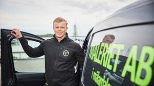 Niklas Liljegren hade haft kontakt med Möller Bil i flera år innan han blev egen företagare. Valet blev naturligt när Niklas köpte sin första transportbil.