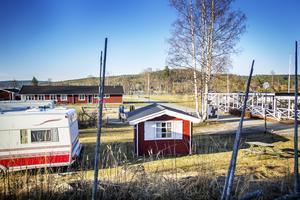 Här kan det i framtiden bli 18 fritidshus i stället för camping.