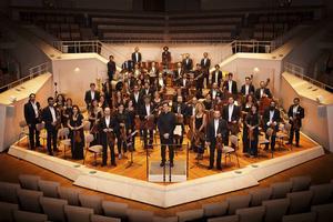 Syrian Expat Philharmonic Orchestra består av exilmusiker från Syrien.