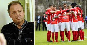 Peter Palmqvist var i mångt och mycket mannen bakom Nora BK:s resa från division 6 till tvåan. Nu ser anser han sig baktalad av klubbens styrelse, som vill ta herrlaget ur division 2.