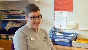 Åsa Eriksson har jobbat i 18 år på Idkerbergets skola.