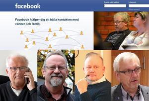 Ånges politiker är flitiga användare av sociala medier, men också på helt olika sätt. Det visar ST:s granskning av april och maj månads offentliga publiceringar på Facebook.