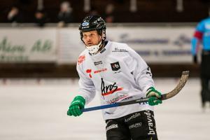 Jacob Bucht noterades för en assist i onsdagens match med Tillberga.