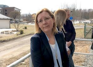 Marjatta Lamminen, enhetschef sociala sektorn , var med och firade.