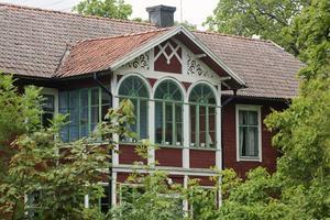Romanov var en av de byggnader som användes som flyktingförläggning.