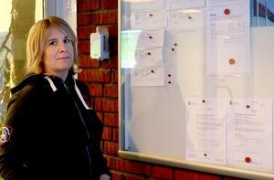 Kommunikatör Marie Öberg berättar hur Ånge kommun gått till väga vid beställningen av en besökskarta.
