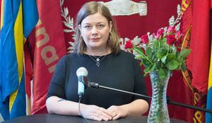 Malin Ragnegård, ordförande Kommunal Bergslagen.
