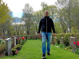 Många uppskattar parkens blandade vegetation. Här växer bland annat Himalayabjörk, alm, lind, lönn och bok, säger Tobias Munkholm.