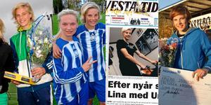 Lina Hurtig – ett återkommande tidningsnamn.
