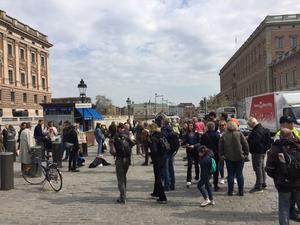 Det är en löst sammanhängande grupp som demonstrerar varje fredag på Mynttorget. Inom gruppen finns flera mindre grupperingar, Kalle Güettler från Häverö tillhör Writers for future och Grandparents för future.