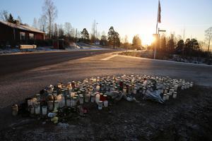 Det var på E45 vid Holen som dödsolyckan inträffade.