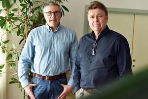 Jan Djos och Stefan Larsson på Morastrand berättar om bygget.