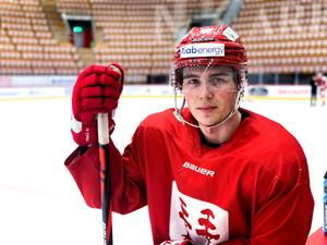 Oliwer Fjellström är redo för spel.