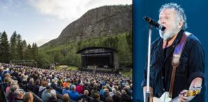Ulf Lundell kommer att uppträda på naturscen Skuleberget den 24 juli.