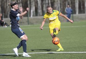 Ellika Persson och Ljusdal kan nu skryta med en tillfällig fjärdeplats i tabellen.