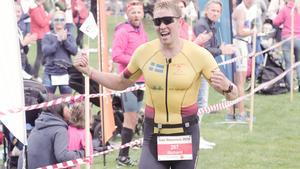 Richard Bräckvall avslutade starkt. Tävlingen levde bara kilometer innan målgången.