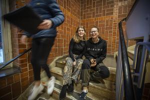 Miranda Lagerhäll och Freija Kenthin befinner sig just nu i Teneriffa för att göra sin arbetsplatsförlagda utbildning.