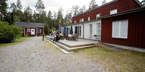 Frälsningsarméns barnkollo i Rörberg har de senaste åren använts som ett boende för ensamkommande flyktingungdomar från Afghanistan.