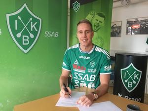 Mattias Liljestrand har skrivit på ett tvåårskontrakt för IK Brage. Bild: IK Brage