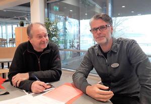 Urban Carlsson, Lärarnas riksförbund, och Jörgen Kron, Lärarförbundet i Askersund är kritiska mot de besparingar som kan komma att genomföras i Askersunds kommun och befarar att det kommer att drabba de elever med störst behov av stöd.