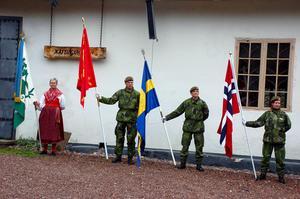 Under den årliga veteran- och kulturdagen manifesteras de nära banden och samarbetet mellan Sverige och Norge genom bland annat en hedersvakt.