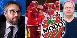 Peter Forsberg pratar med Hockeypuls och Sporten om Michael Sundlövs verk i Modo och vilka egenskaper nästa sportchef borde ha. Foto: Carl Sandin.
