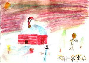 6:e pris Joar Gullberg, 8 år, Stugun. Kategori 6-8 år.