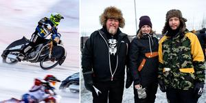 Stämningen var på topp både på banan och på läktaren under lördagens VM-kval på Kallehov i Örnsköldsvik.