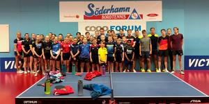 Alla deltagare under lägret i Söderhamn. Bild: Anders Eriksson.