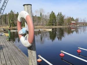 En vacker dag i småbåtshamnen i Hillevik.