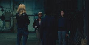 Foto: Twentieth Century Fox. Elizabeth Debicki, Cynthia Erivo, Viola Davis och Michelle Rodriguez i en scen ur