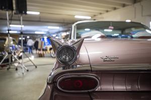 Baklysena på en Pontiac Catalina från 1959 är inget annat än ett konstverk.