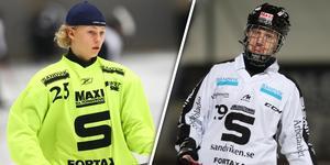 Jesper Sundving och Lucas Widman är två av tre talanger som tar plats i Sandviken.