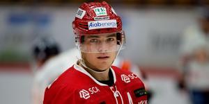 Emil Berglund stannar i Timrå. Bild: Nils Jakobsson/Bildbyrån