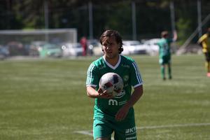 Almir Zeqiri var den som fastställde slutresultatet till 4–0 för Franke.