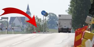 Trafikverket har nu byggt en passage så att utsatta trafikanter lättare kan korsa vägen.