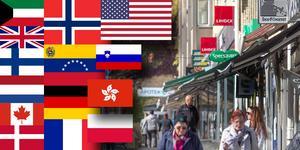Lindex är numera finskägt, och Subway och Specsavers är från början brittiska.
