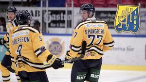 Jacob Spångberg övertygar i backparet med nyförvärvet Marcus Oskarsson.