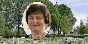Kyrkogårdsföreståndare Åsa Hampgård bedömer att acceptansen för gravskötselavgiften ökat.